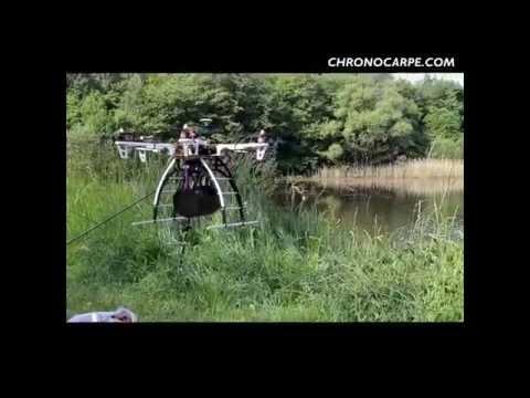 Kŕmenie RC vrtuľníkom, dronom