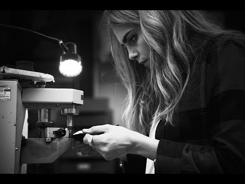 Cara Delevingne Makes Her Mulberry