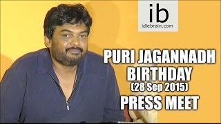 Puri Jagannadh Birthday press meet