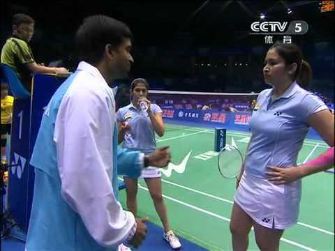 [2011 Sudirman Cup WD] Wang Xiao Li/Yu Yang vs Jwala Gutta/Ashwini Ponnappa [3]