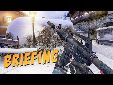 CS:GO - M4A1-S | Briefing Gameplay