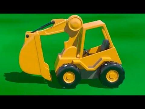 Çizgi film - İş Makineleri - Kepçe (Sayılar öğreniyoruz)