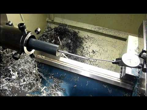 Turning and Threading a Barrel