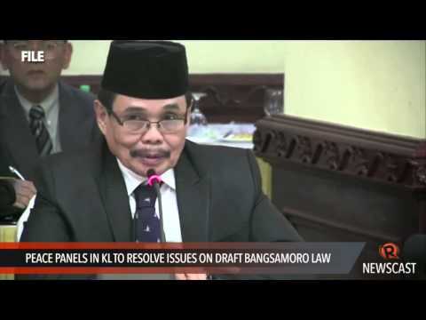 Peace panels in KL to resolve issues on draft Bangsamoro law