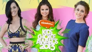 Kids Choice Selena Gomez, Katy Perry, Kristen Stewart Moda