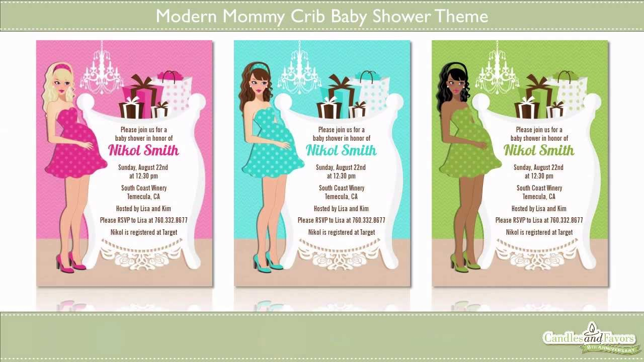 Modern Baby Shower Themes 1280 x 720