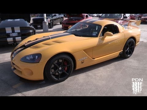 Viper car show at Tomball Dodge/Viper Exchange