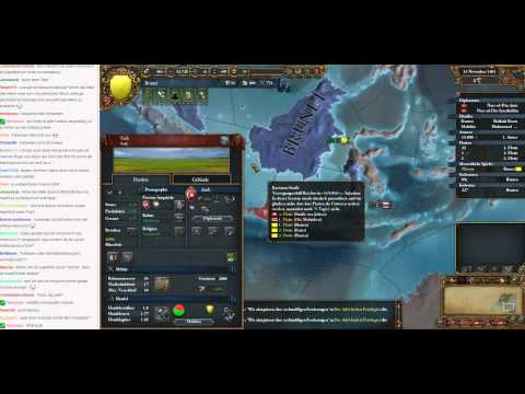Livestream Europa Universalis IV Brunei to Malaysia 06 (Let's Play/Deutsch)