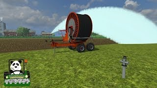 Farming Simulator 2013 Mod Review Irrigation Pack V 2 0