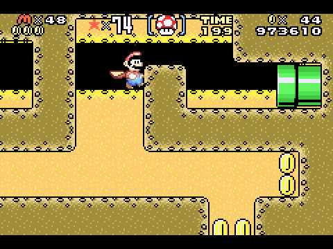 Super Mario Advance 2 - Super Mario World - Super Mario World (GBA) - Part 2/2 - User video