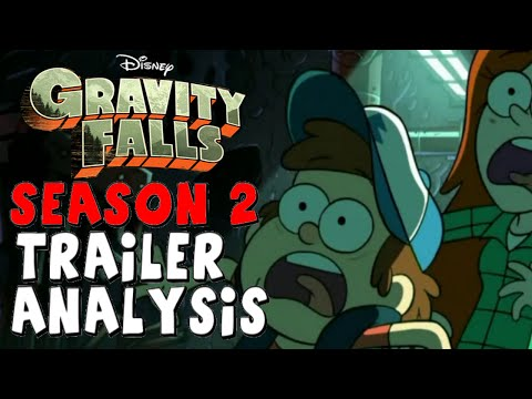 Gravity Falls: Season 2 Trailer - Analysis