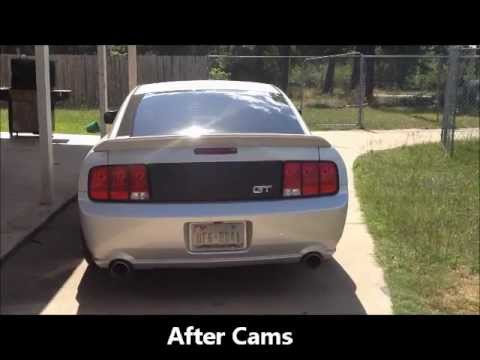 2005 mustang gt with mutha thumpr comp cams youtube. Black Bedroom Furniture Sets. Home Design Ideas