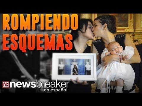 ROMPIENDO ESQUEMAS: Primer Bebé de Madres Lesbianas Bautizada por la Iglesia Católica