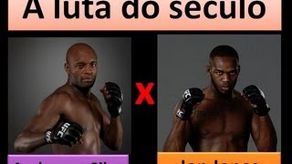 UFC: Anderson Silva Vs Jon Jones A Luta Do Seculo
