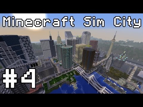 Minecraft Sim City (1.8 snapshot) Simburbia! #4