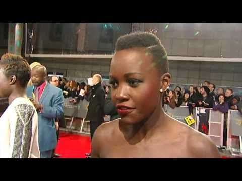 BAFTAs 2014: Interviews with 12 Years A Slave stars Lupita Nyong'o and Chiwetel Ejiofor