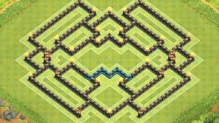 Clash Of Clans Epic TH9 Farming Base
