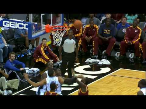 Dion Waiters Hangs for the Acrobatic Layup!