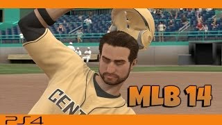 MLB 14 Road To The Show PS4 Player Creation & First