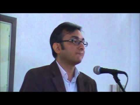 Talk at Northwestern University (NU) by Rahul Pandita 10/25/13