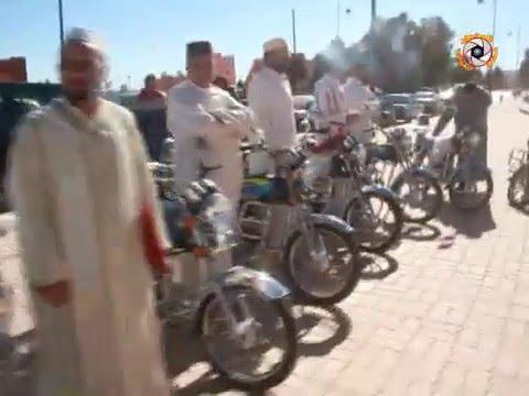 مرشدي مساجد اقليم تنغير يستفدون من درجات نارية