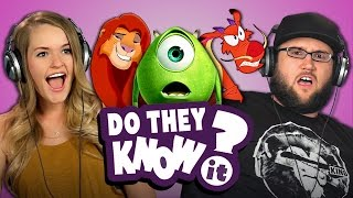 Do Adults Know Celebrity Voices in Disney/Pixar Movies? (REACT: Do They Know It?)