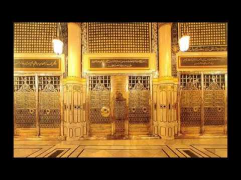 First time ever inside view of  Hujra-e-Rasool (saws)