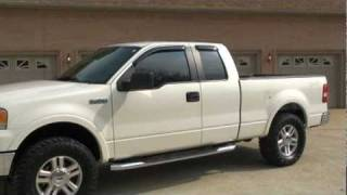 2007 FORD F 150 SUPERCAB 4X4 LARIAT FOR SALE SEE WWW SUNSETMILAN COM videos