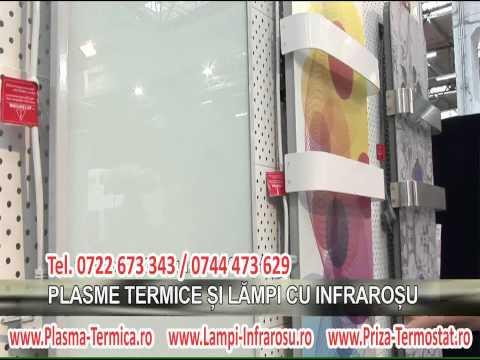Salonul International de Mobila Romaero SIM 2012 plasme termice si lampi infrarosu GIGA TV