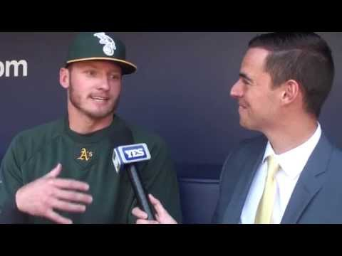 Oakland Athletics Josh Donaldson on getting to play Yankees Derek Jeter