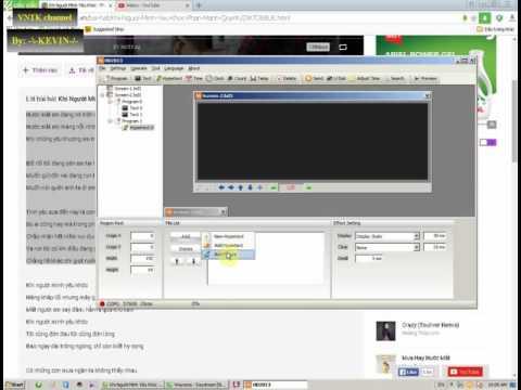 [VNTK_31]how to use HD cpu 2013 LED MATRIX - hướng dẫn HD 2013