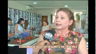 Comerciante de langeries de Juruaia d� desconto para quem economizar �gua