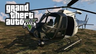 "GTA 5 ONLINE : Spawn Location ""Police Helicopter/Police"