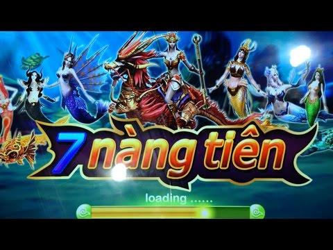 Máy bắn cá game 7 NÀNG TIÊN Ngọc Thiên Hà LH: 0917666052
