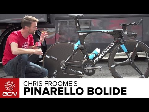 Chris Froome's Team Sky Pinarello Bolide Time Trial Bike