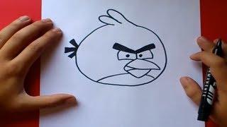 איך לצייר אנגרי בירדס