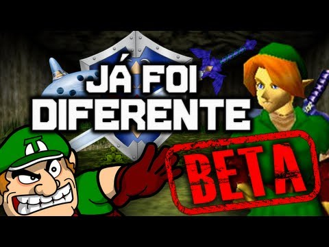 Já Foi Diferente: The Legend of Zelda (BETAS)