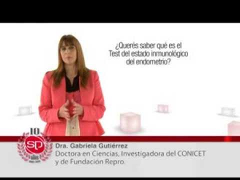 Test del estado inmunológico del endometrio   Dra. Gabriela Gutiérrez