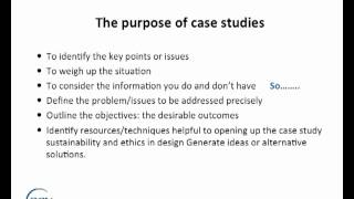 how to make case study report