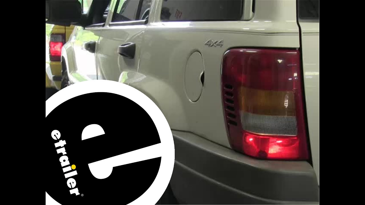 Installation Of A Blue Ox Tail Light Wiring Kit On A 1999 Jeep Grand Cherokee