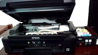 Mantenimiento de impresora Epson