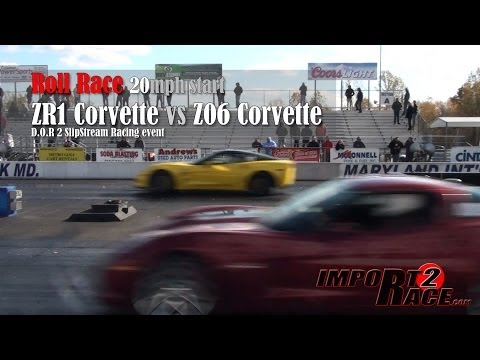 ZR1 Corvette vs Z06 Corvette