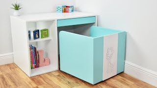 How to make a DIY DESK and CHAIR for KIDS