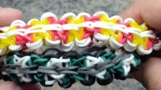 *NEW!* How To Make A Rainbow Loom Ninja Star Bracelet