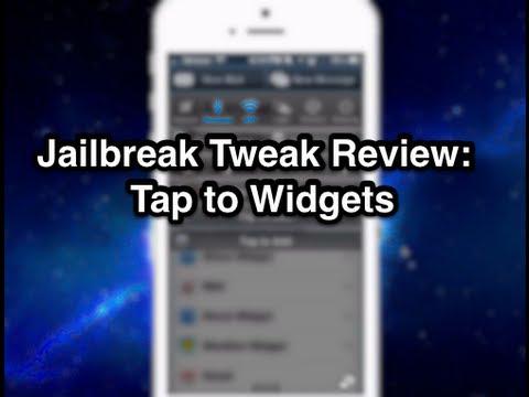 Tap To Widgets Jailbreak Tweak Review