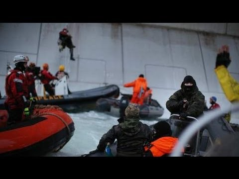 Greenpeace To Appeal Over Russia Jailings