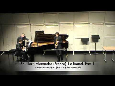 Souillart, Alexandre (France) 1st Round. Part 1