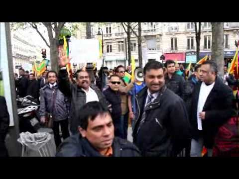 srilankan defended by french police during ltte 's attack in paris