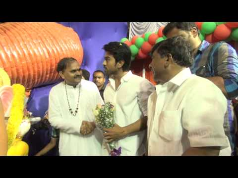 RAMCHARAN  VINAYAKA POOJA VIDEO IN GAJUWAKA KNR
