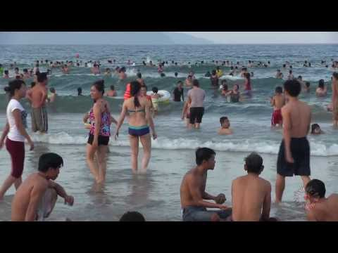 Da Nang Beautiful Beach | Bãi Biển Tuyệt Đẹp Đà Nẵng | 1080p